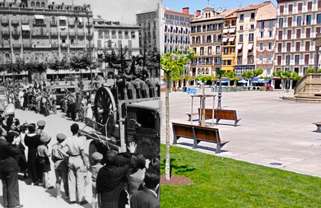 Plaza del Castillo 1936-2011